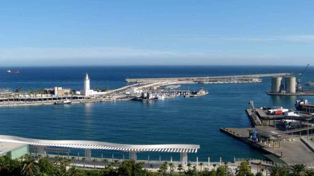 Puerto de Málaga.