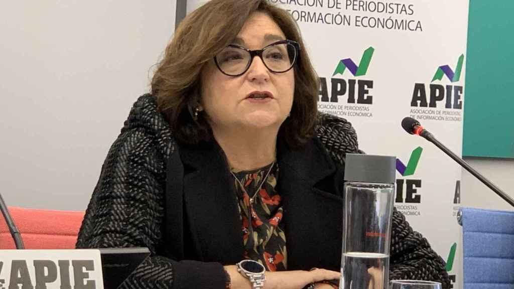 Marina Serrano, presidenta de la Aelec.