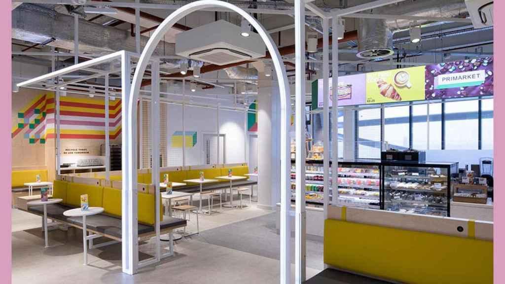 La cafetería de Primark en su tienda de Birmingham (Reino Unido).