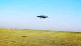Crean un platillo volante de verdad, funcional y capaz de volar
