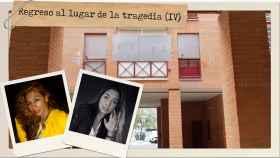 En Aranjuez, la casa de Juanín está tapiada con placas de metal y los Fernández han dejado el piso.