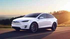 Un coche eléctrico de la marca Tesla.