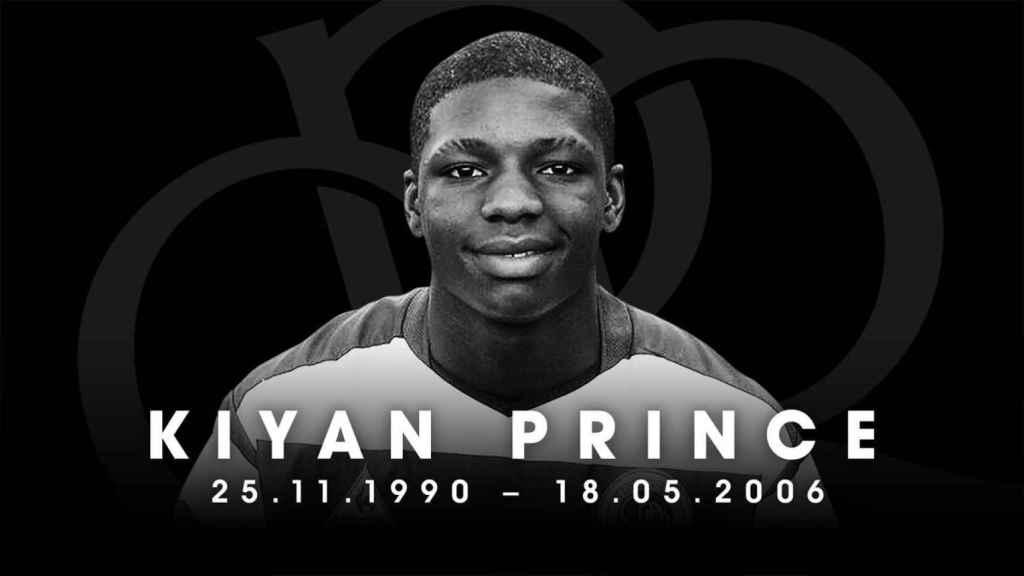 Homenaje a Kiyan Prince, joven promesa del QPR. Foto: Twitter (@QPR)