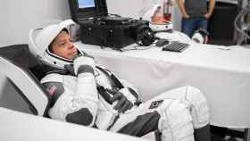 Traje espacial para los astronautas de SpaceX