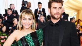 Miley Cyrus y Liam Hemsworth.