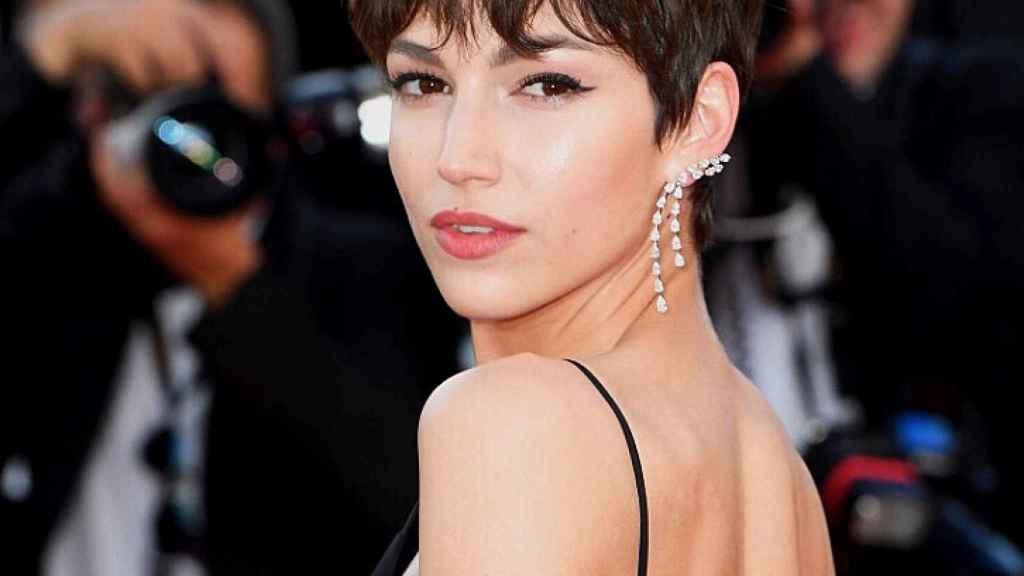 La actriz Úrsula Corberó en la alfombra roja del Festival de Cannes 2018.