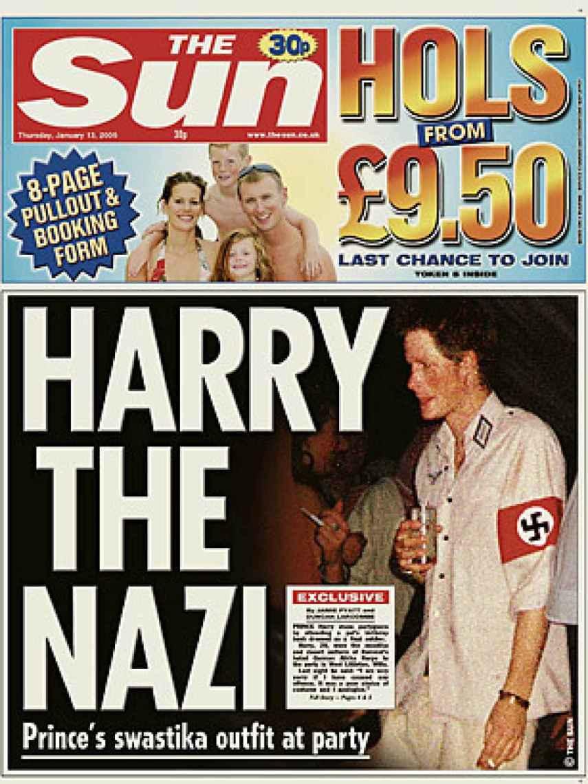 Escándalo al que se refería Farage.