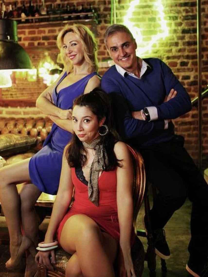 Fotografía oficial de la obra de teatro en la que participa Ania Iglesias.