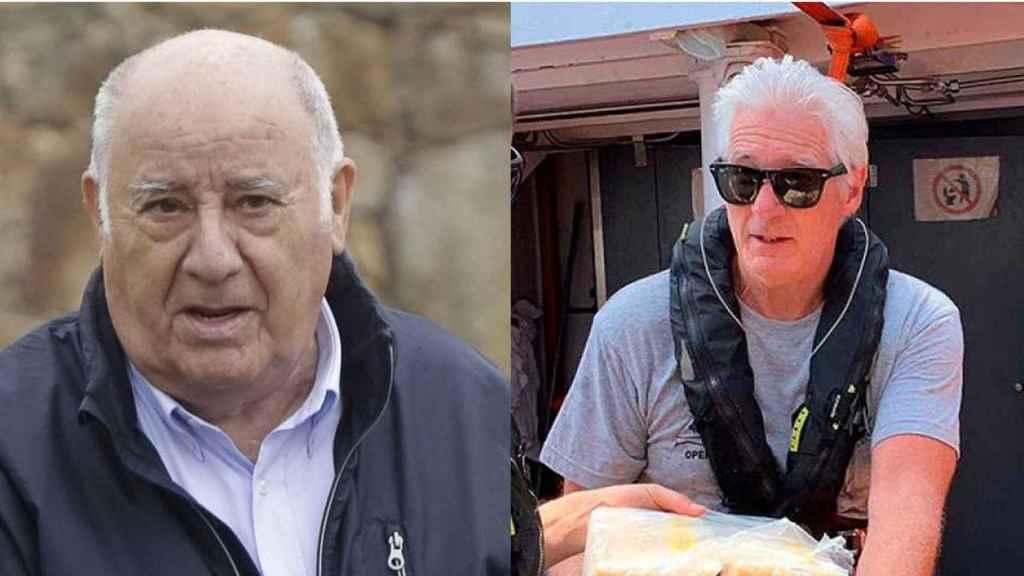 Amancio Ortega y Richard Gere criticados y alabados por sus actos de caridad.