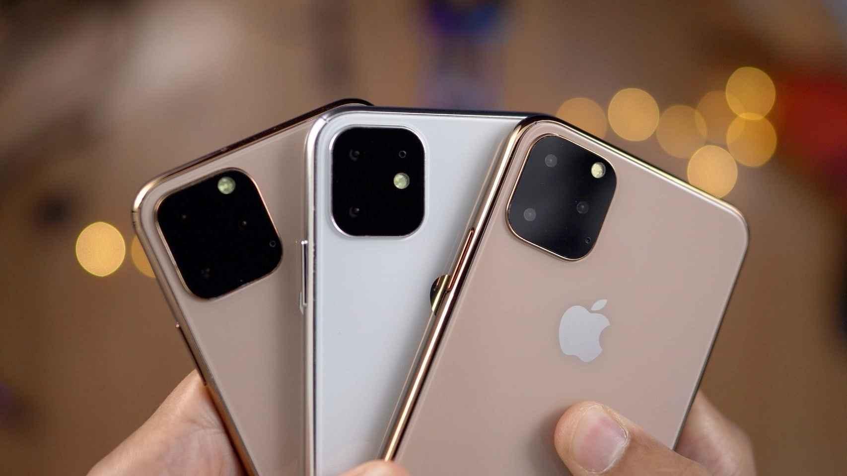 Renders de iPhone.