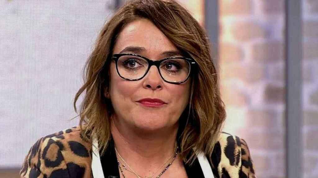Toñi Moreno en una imagen de televisión.