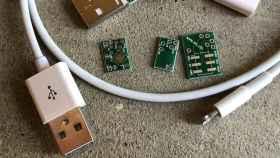 Cable de iPhone modificado