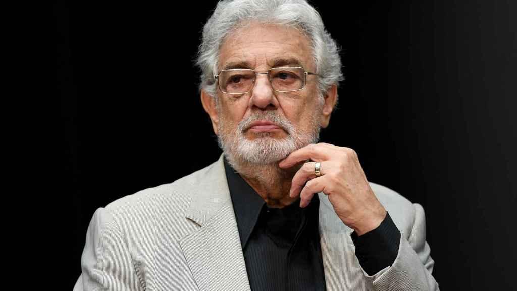 Plácido Domingo en una foto de archivo.