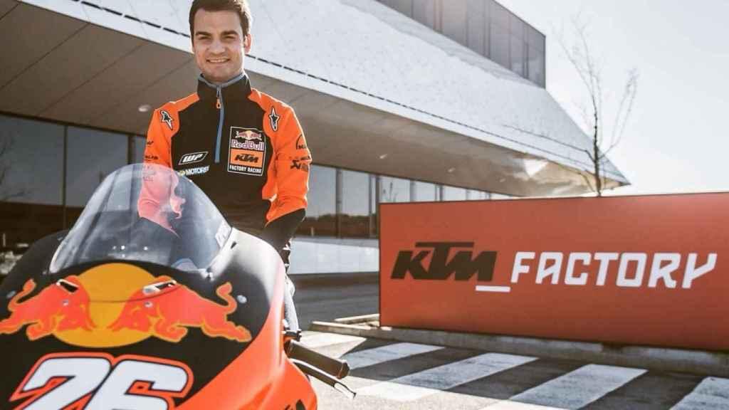 Dani Pedrosa, con KTM
