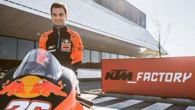 Dani Pedrosa, con KTM. Foto; Twitter (@26_DaniPedrosa)