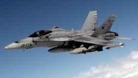 El protagonista del episodio es un F-18 del Ala 12, como el de la imagen.