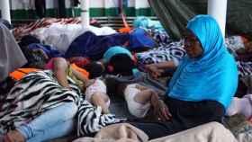 Dos bebés de nueve meses serán evacuados en las próximas horas.
