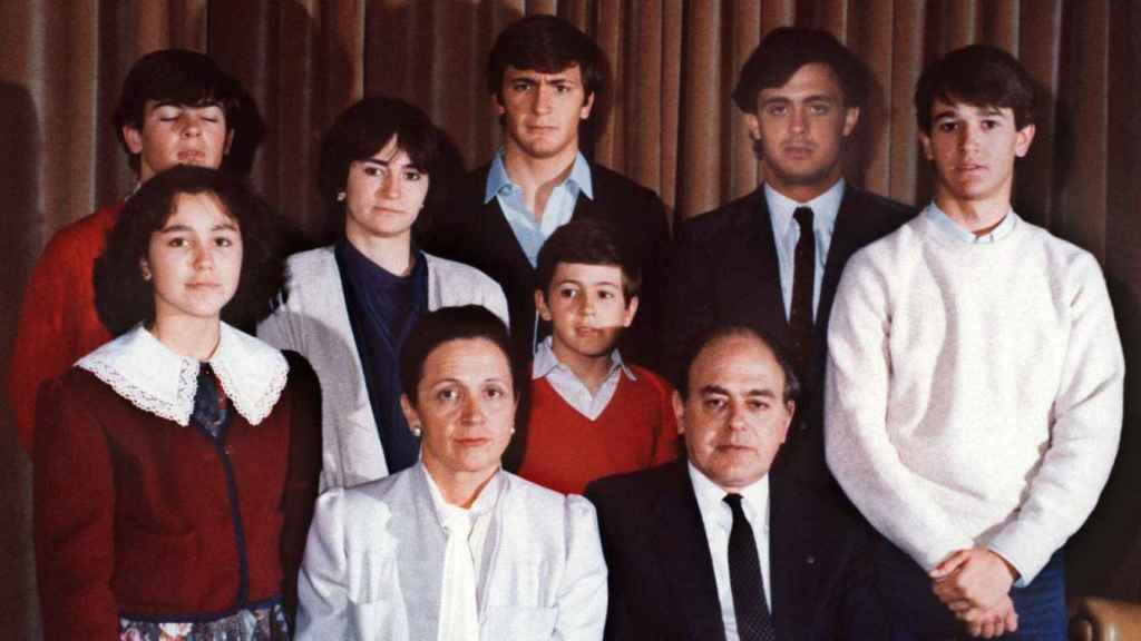 La familia Pujol en una imagen de archivo.