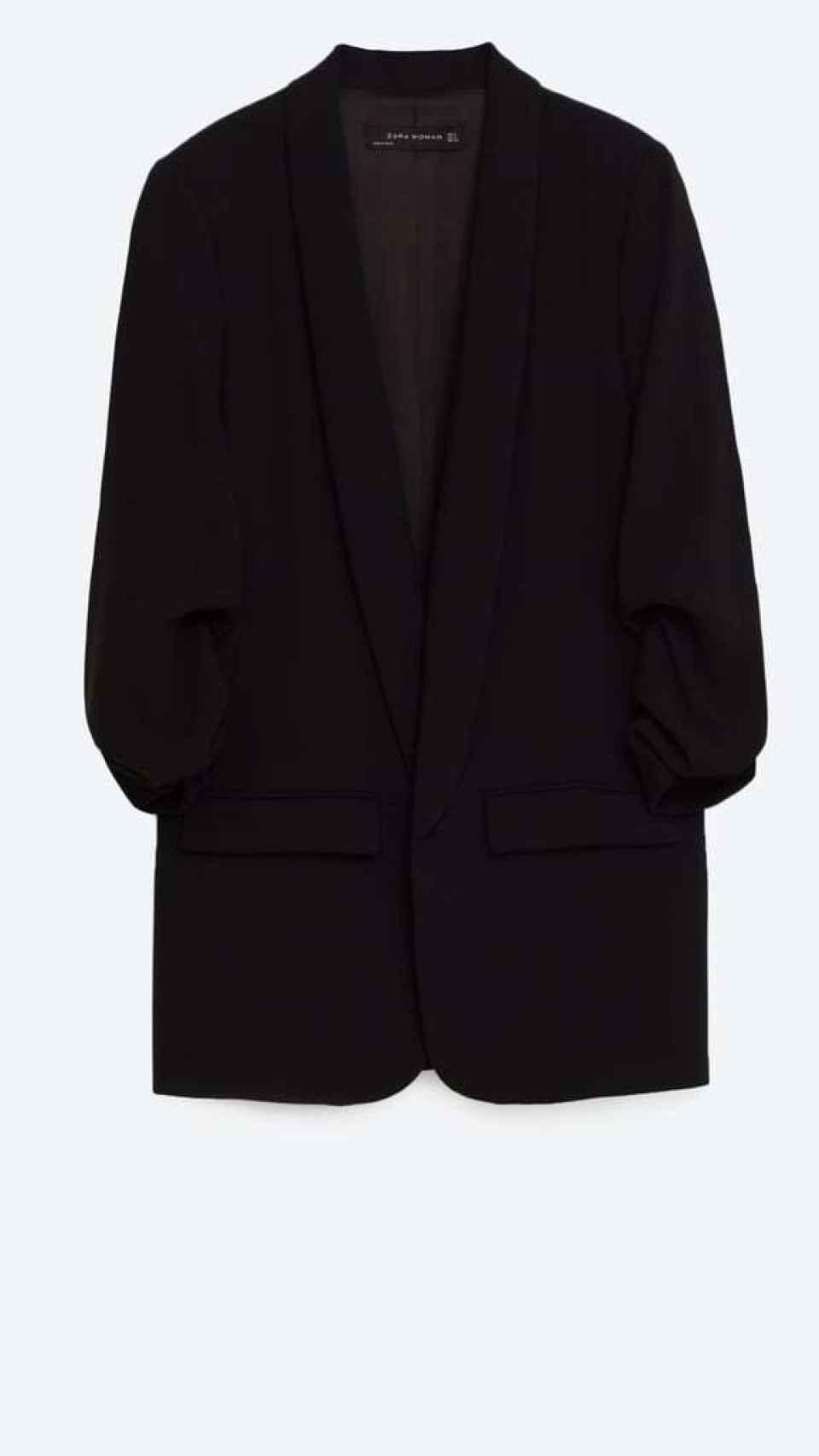La blazer de Zara.