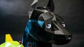 Perro robot.