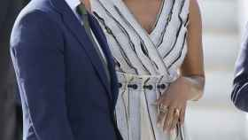 Michelle Obama durante una visita a Madrid en 2016.