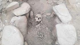 Los restos óseos han sido hallados en muy buen estado y es casi seguro que sean de una mujer.