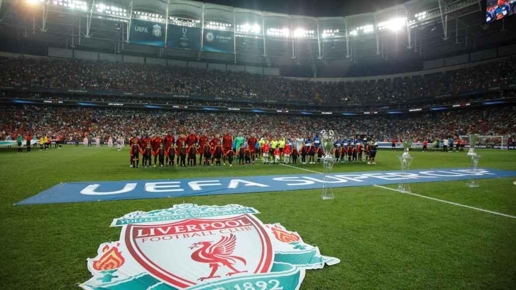 Onces del Liverpool  y Chelsea antes de la Supercopa de Europa 2019