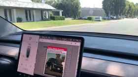 Contraspionaje en un Tesla.