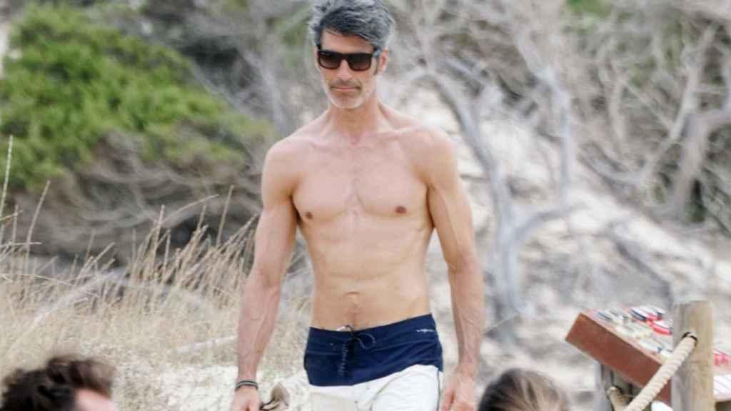 Jorge Fernández durante sus vacaciones de verano en Formentera, este 31 de julio.