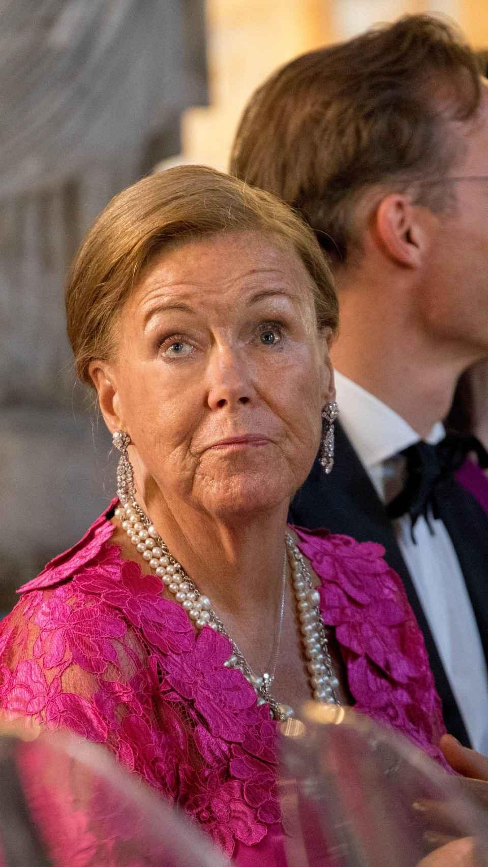 La princesa Cristina de Holanda.