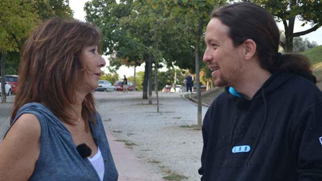 Pablo Iglesias se rinde a los pies de Ana Rosa Quintana