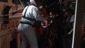 Evacuación de cuatro personas a bordo del Open Arms