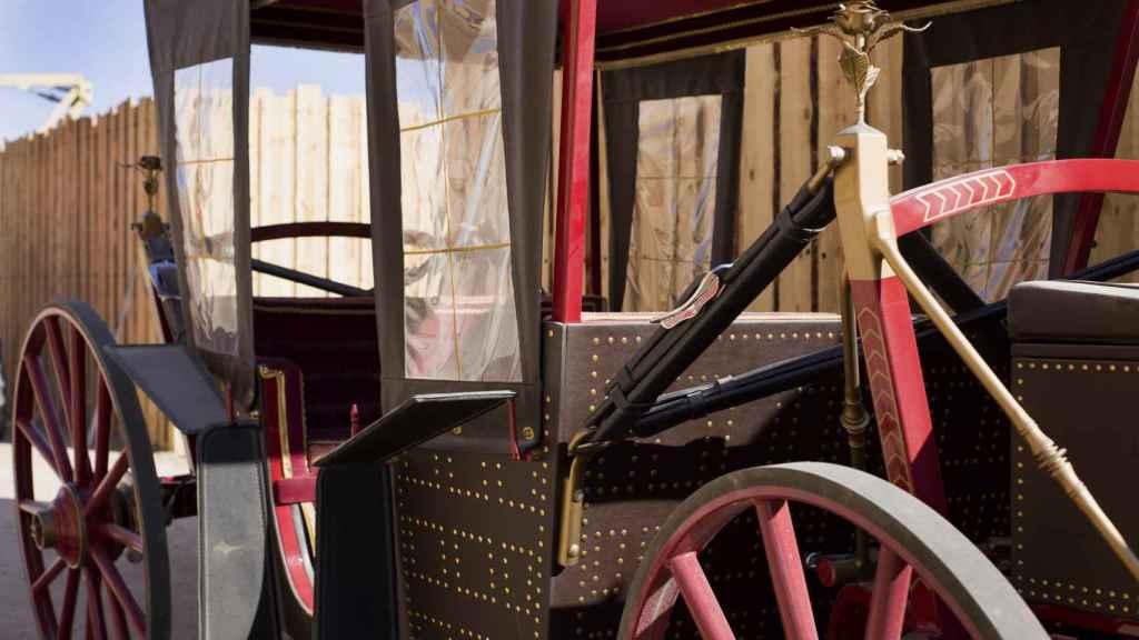 La carroza del emperador Carlos V.