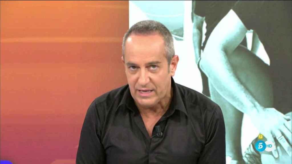 Víctor Sandoval ha protagonizado un monumental enfado en 'Sálvame'.