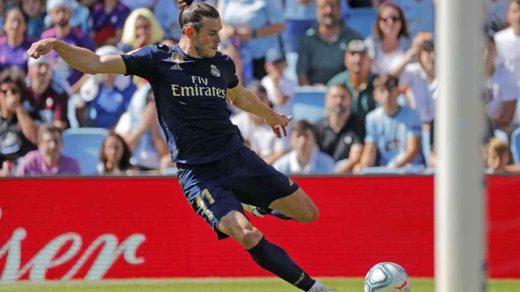 Gareth Bale, en un partido del Real Madrid en La Liga