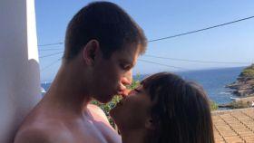Miguel Bernardeau y Aitana Ocaña en una imagen de sus redes sociales.
