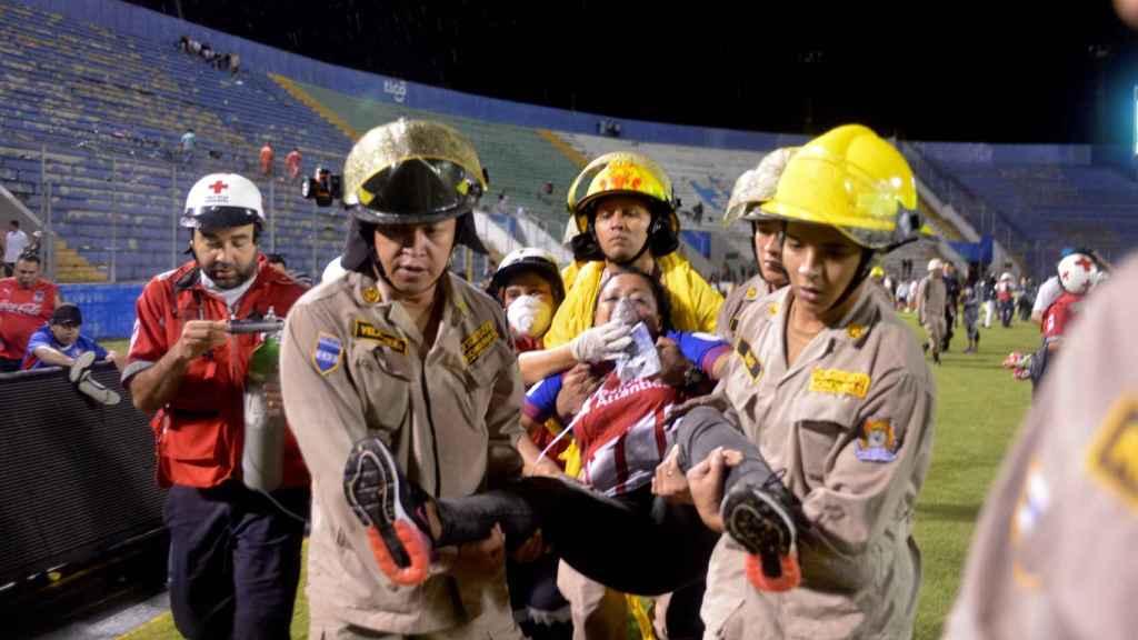 Tragedia en el clásico de Honduras