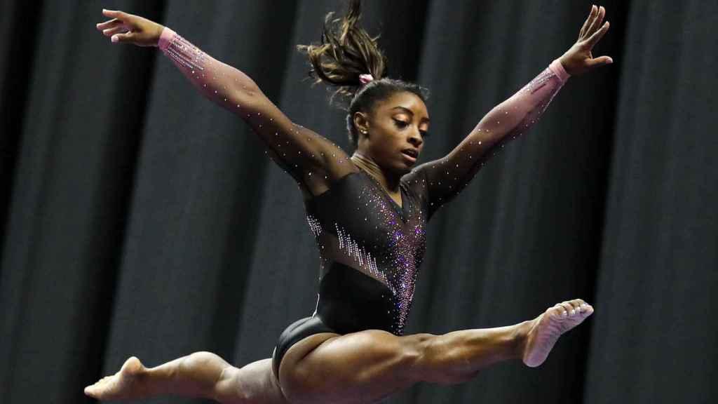 Simone Biles, gimnasta de Estados Unidos