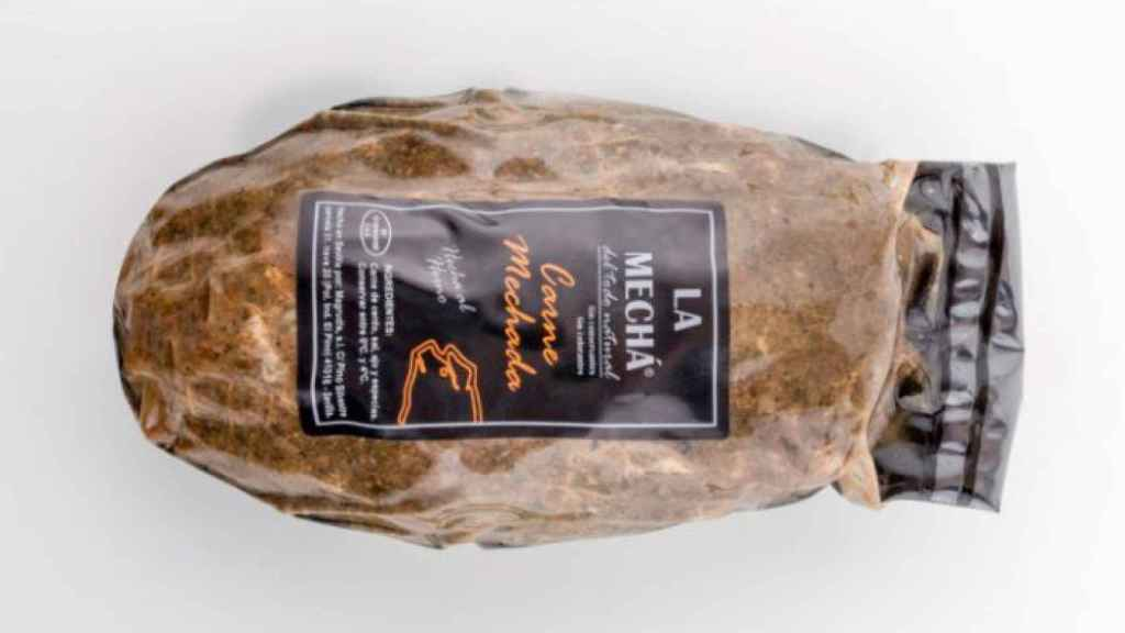Carne mechada, de la marca 'La Mechá.