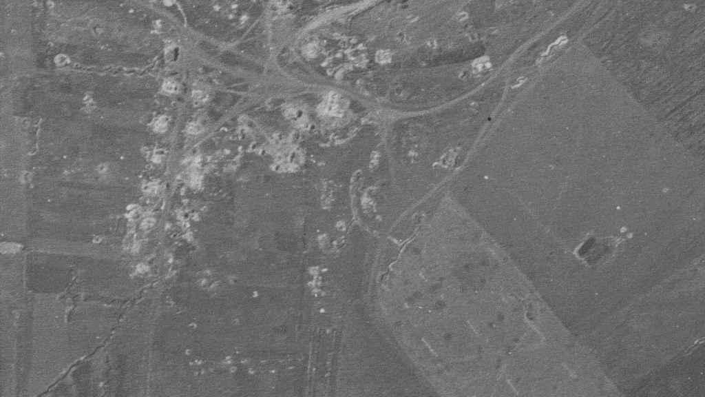 Así quedó una de las zonas en la que se enfrentaron los tanques soviéticos y nazis.