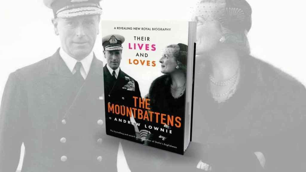 La portada del libro de Lownie que promociona en su Twitter.