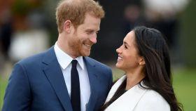 Harry de Inglaterra y Meghan Markle.