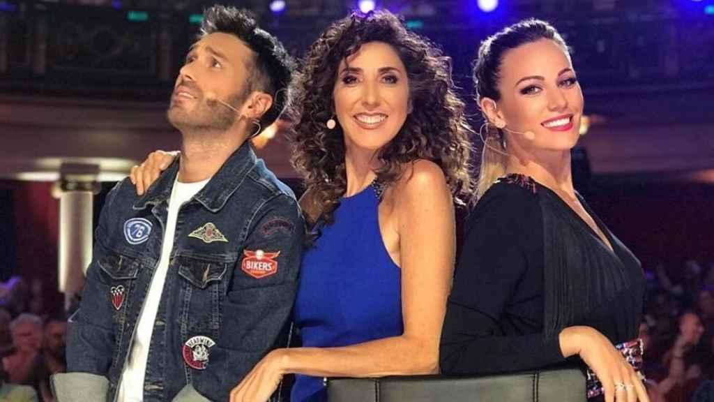 Dani Martínez se ha dejado ver en las redes junto a sus compañeras de 'Got Talent'.
