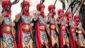 Imagen de archivo de las fiestas de Moros y Cristianos de Almansa