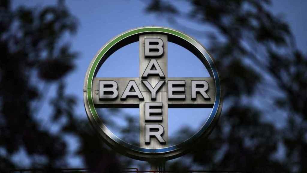 Imagen del logo de Bayer.