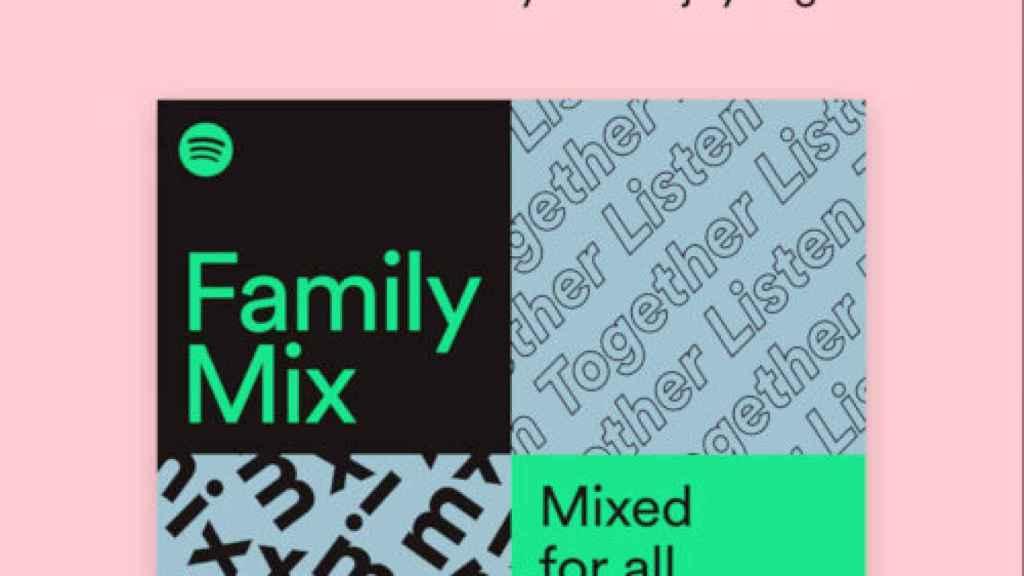 Nuevo plan familiar de Spotify