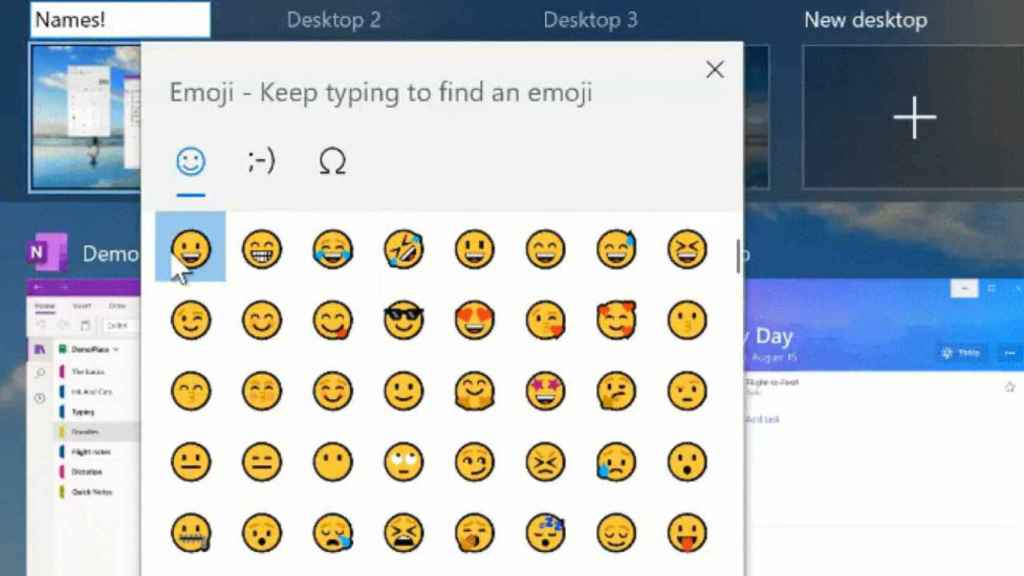 Escritorio virtual en Windows 10