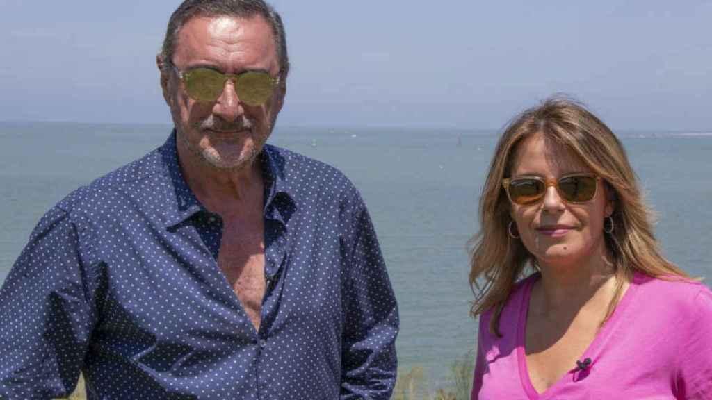 Carlos Herrera y Pilar García Muñiz.