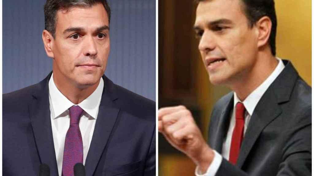 El antes y el después de Pedro Sánchez.