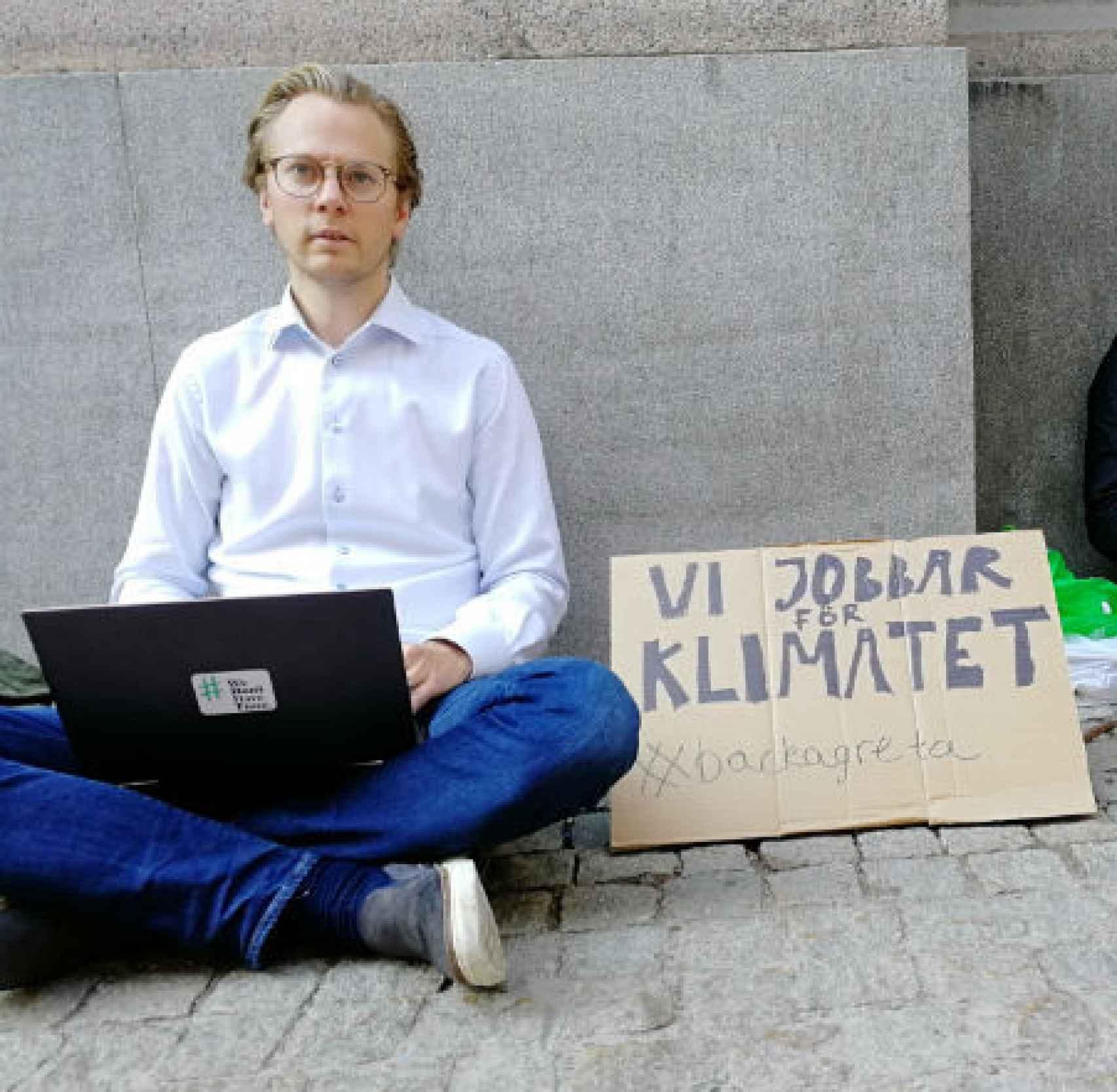 Ingmar Rentzhog, fundador de We Don't Have Time y presidente de Global Challenge.